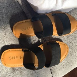 sandals from shein
